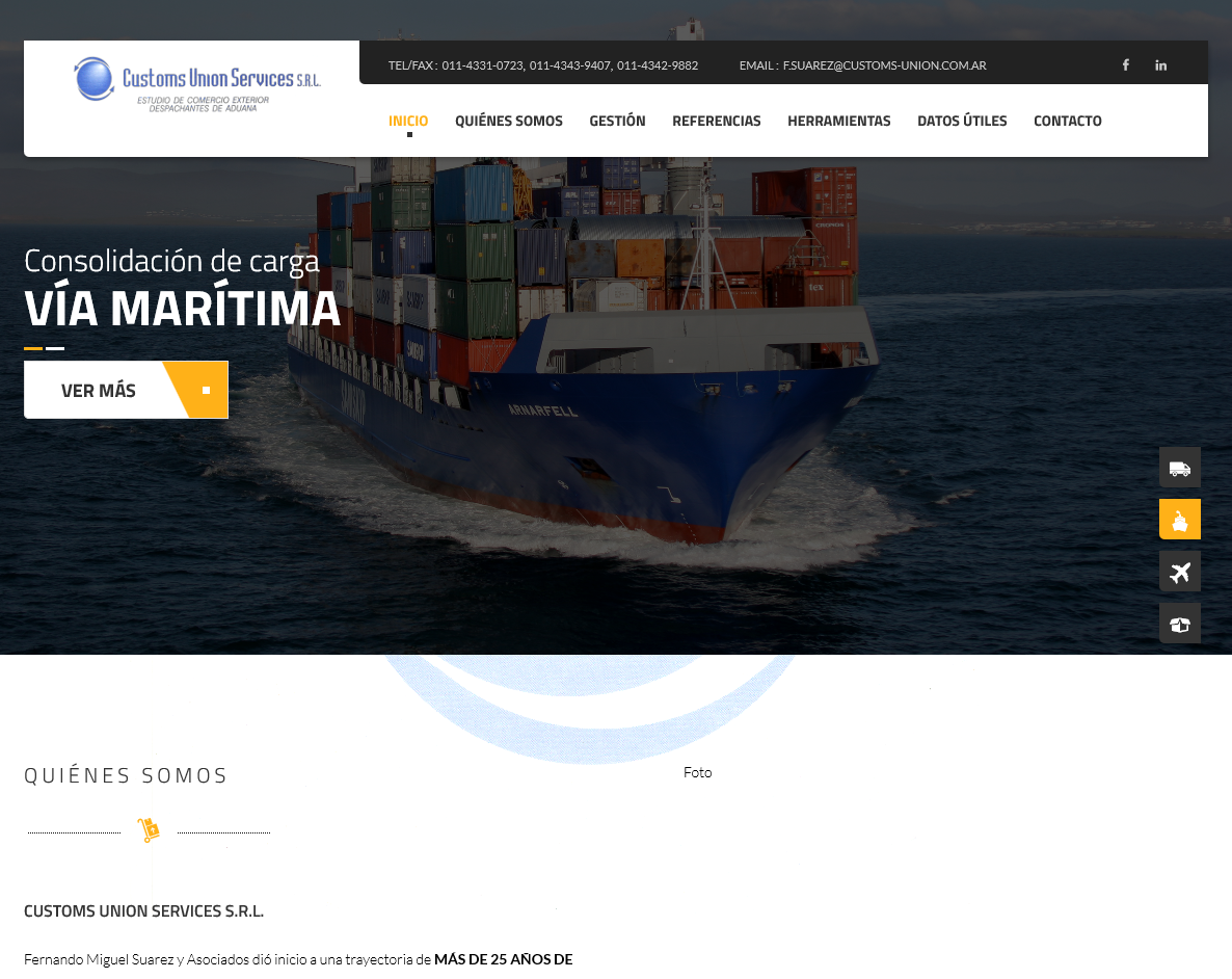 Customs Union Services SRL